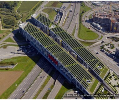 12 Largest Solar Garden Roof - Green Bridge in the world while others do research in 2005