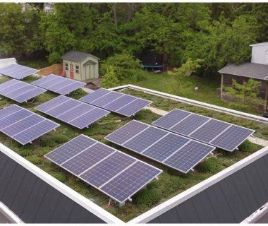 07 Solar Green Roof, Bio Solar on Residential Building