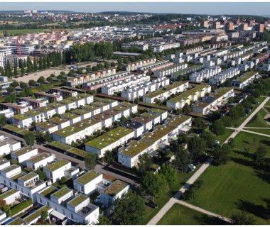 15 Green Residential Living; built from 1998-2000