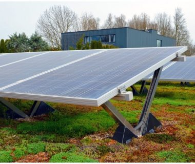 55 PV and Green Roofs