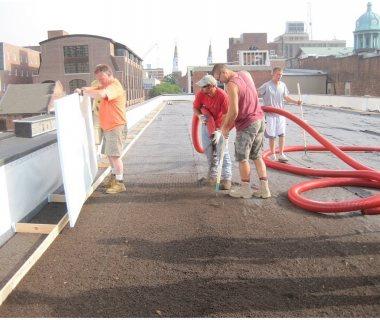 21 Green Roof Installtion