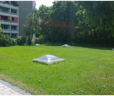 10 Underground Parking Green Roof